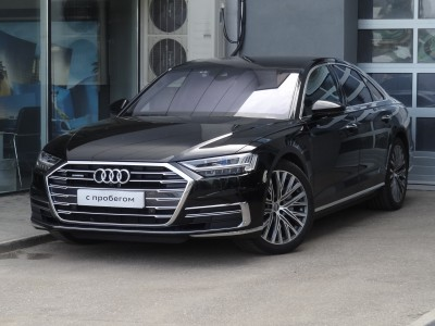 Audi A8, 2018