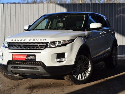 Range Rover Evoque, 2012