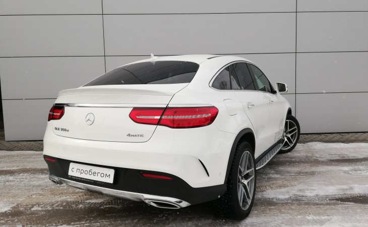Mercedes-Benz GLE-класс Coupe, 2016