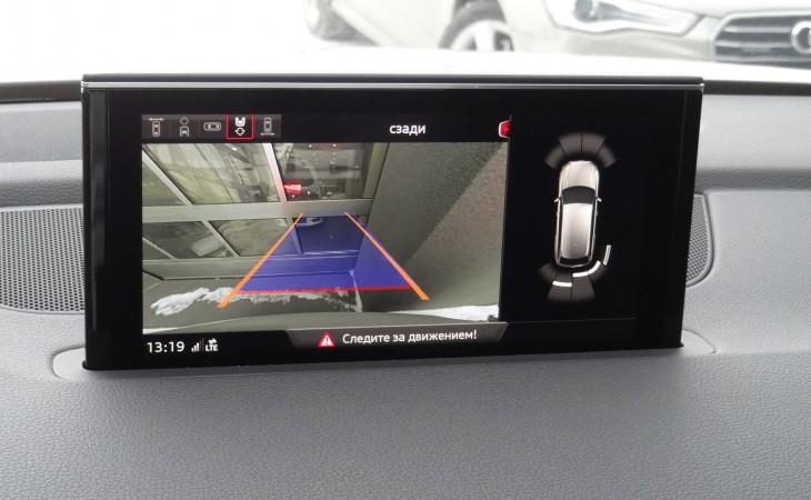 AUDI Q7, 2018 test